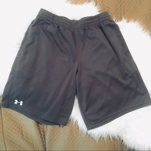 Under Armour Gray Athletic Shorts Large